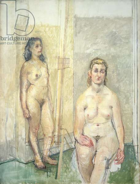 Two Nudes, 1953-4