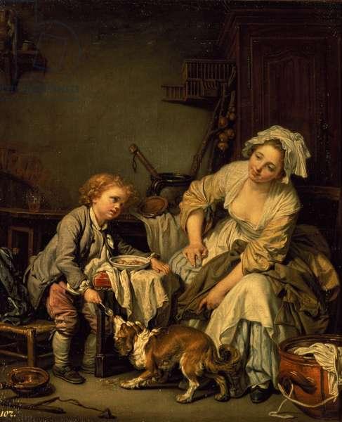 Spoilt Child, c.1765 (oil on canvas)