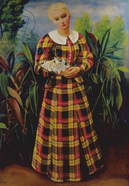 Colette de Jouvenel, nicknamed Bel-Gazou, 1932-3 (oil on canvas)