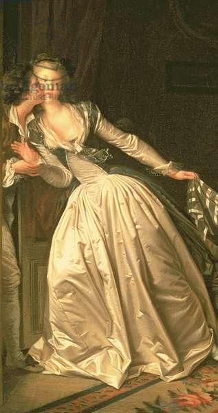 The Stolen Kiss, c.1788 (detail of 37519)