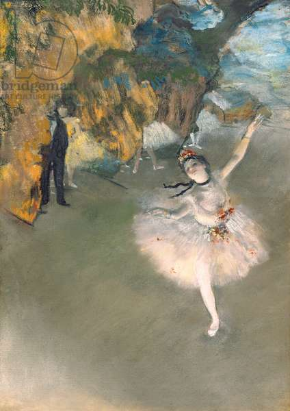 The Star, or Dancer on the stage, c.1876-77 (pastel on paper)