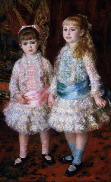 Pink and Blue or, The Cahen d'Anvers Girls, 1881 (oil on canvas)