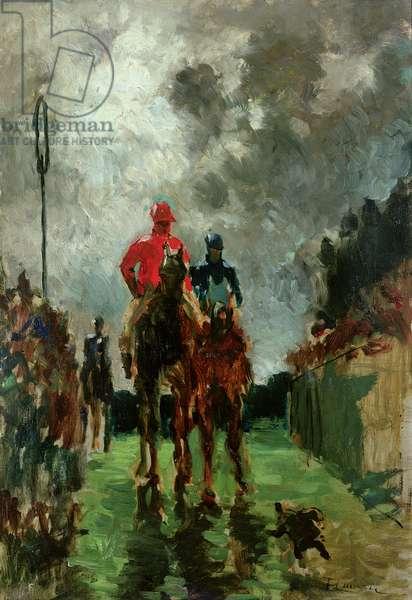 The Jockeys, 1882 (oil on canvas)