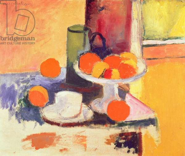 Still Life with Oranges II, 1899 (oil on canvas)