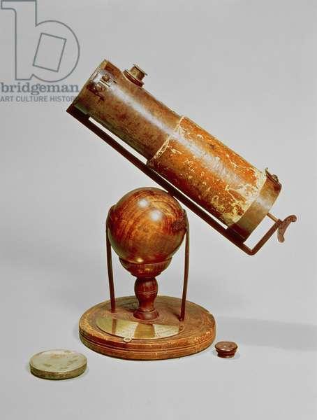 Telescope belonging to Sir Isaac Newton (1642-1727) 1671