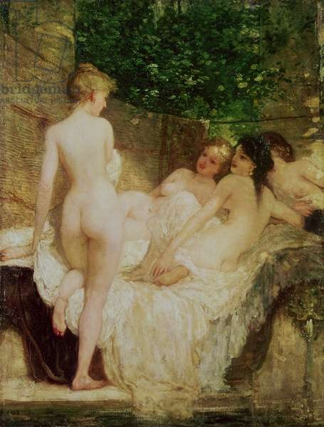 After the Bath, c.1880
