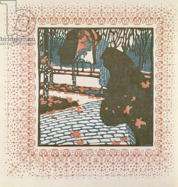 November (woodcut)