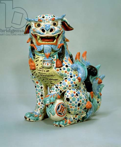 Fo porcelain dog, 17th century