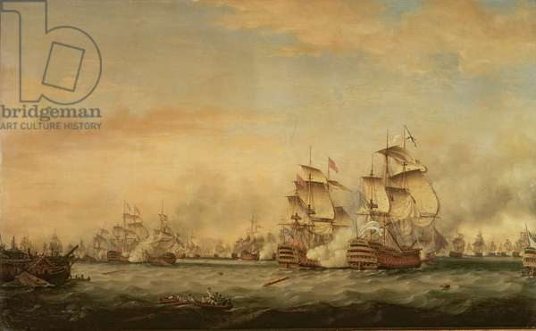 Battle of the Saints, 1782