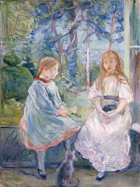 Young Girls at the Window, 1892 (oil on canvas)