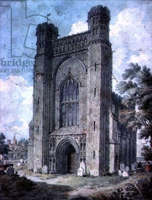 Thorne Abbey, Cambridgeshire (watercolour)