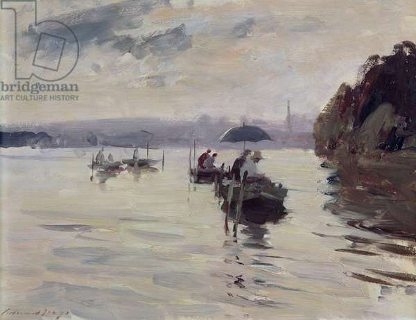 Anglers on the Seine at Vernon