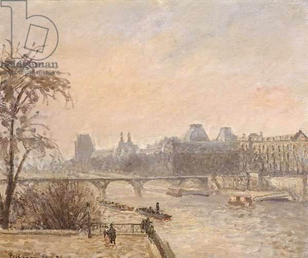 The Seine and the Louvre, 1903 (oil on canvas)