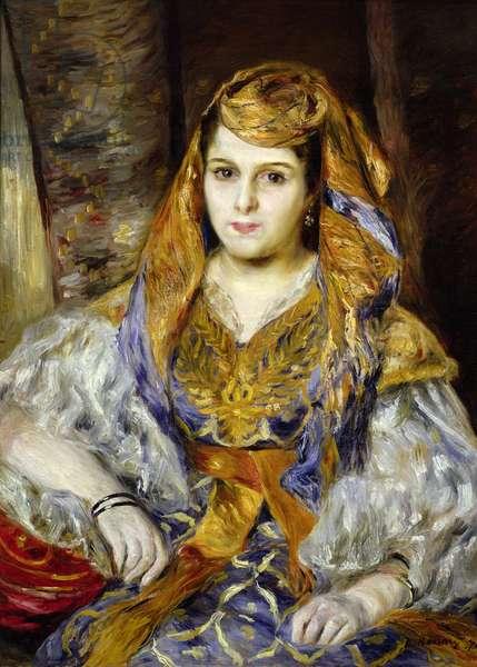 Mme. Clementine Stora in Algerian Dress, or Algerian Woman, 1870 (oil on canvas)
