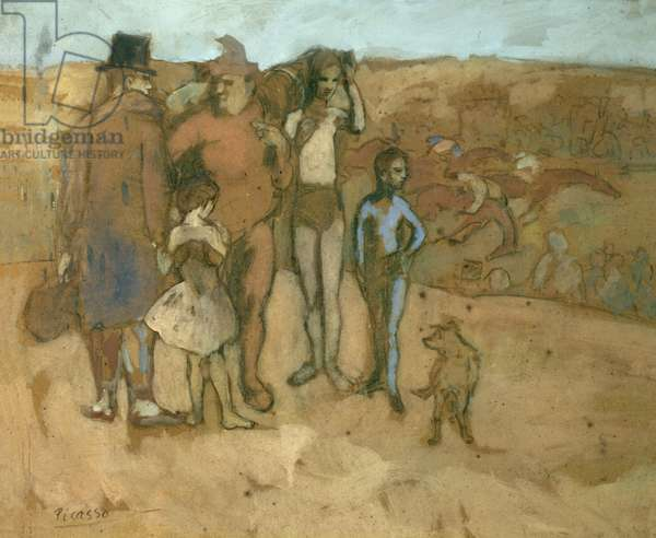 The Family of Saltimbanques (Comedians) 1905 (gouache on cardboard)