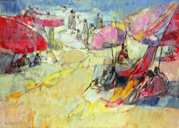 Gust of wind on the Beach (Coup de Vent sur la Plage)