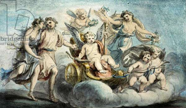 The Triumph of Cupid (w/c)