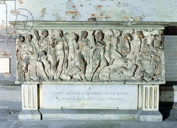 Roman Sarcophagus, 2nd century AD (stone)