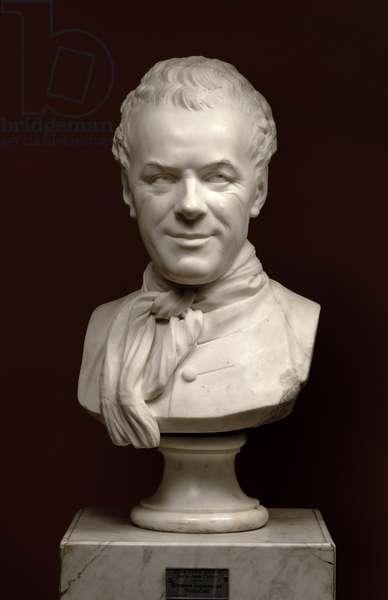Portrait Bust Etienne Maurice Falconet (1716-91), 1773 (marble)