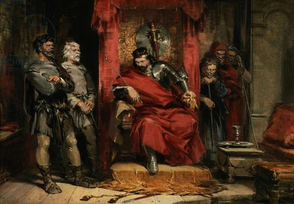 Macbeth instructing the Murderers employed to kill Banquo