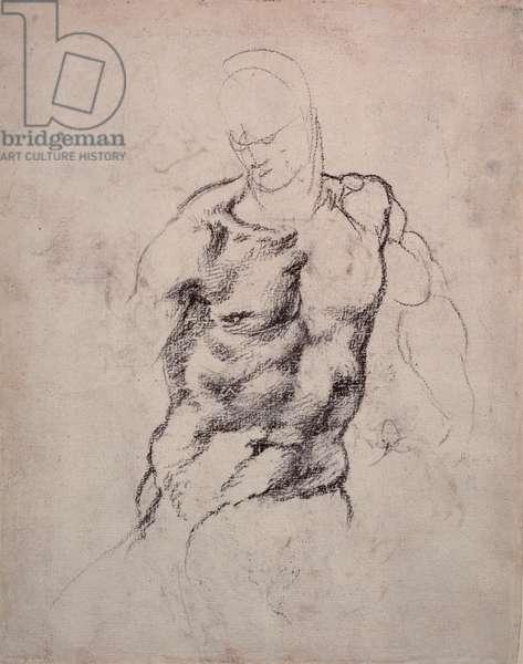 Figure Study (charcoal on paper)