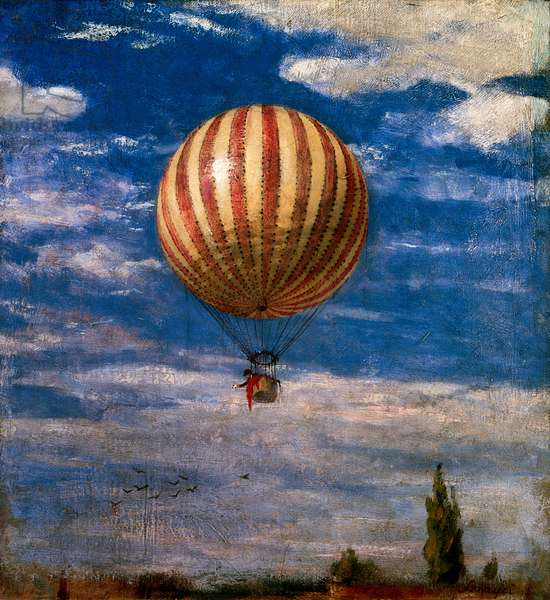 The Balloon, 1878 (oil on canvas)