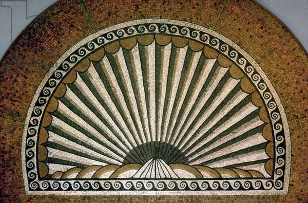 Shell mosaic, Insula II Building I 130-150 AD