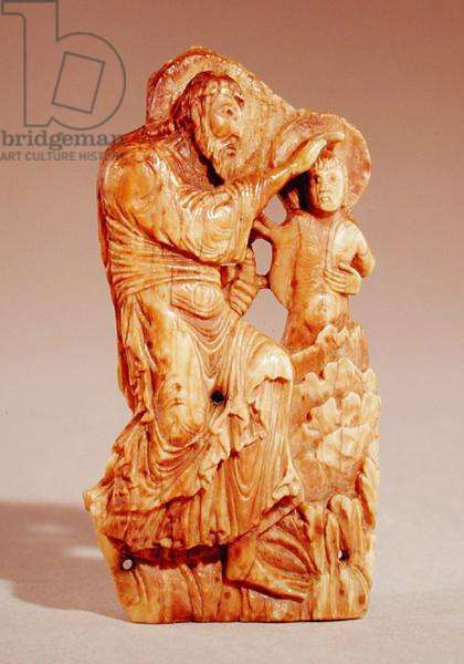 The Baptism of Christ (walrus ivory)
