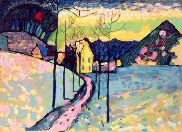 Winter Landscape, 1909 (oil on canvas)