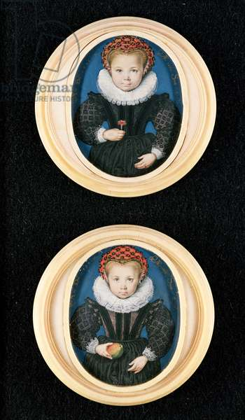 Two Little girls, 1590