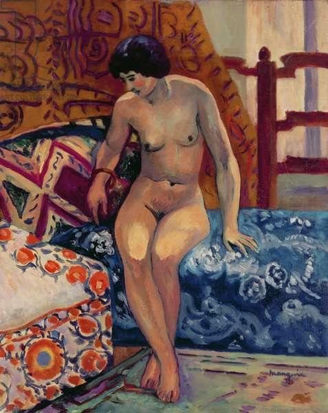 Nude on an Ottoman, 1908
