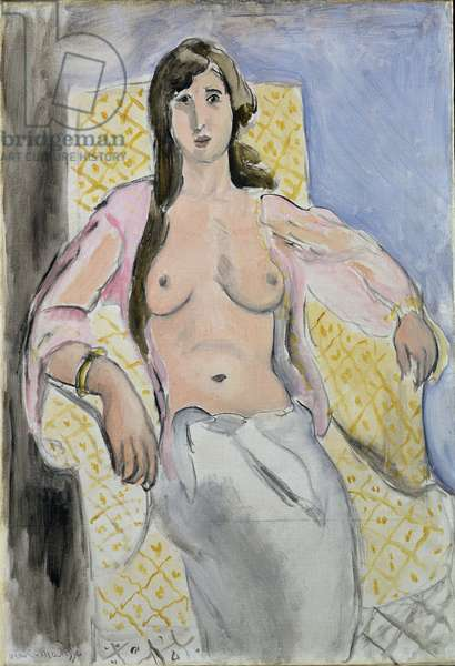 Woman in an Armchair, or Antoinette, 1919