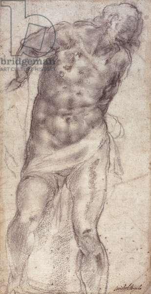Figure Study (pencil on paper)