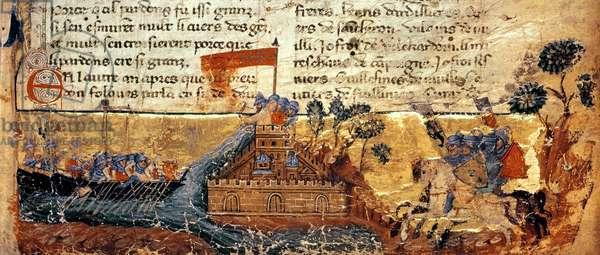 Fr 4972 f.1: Jerusalem in the Crusades (vellum)
