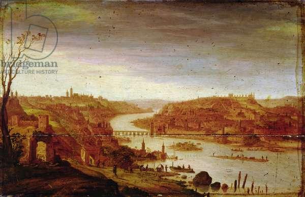 View of Prague (unrestored version, see also 57946)