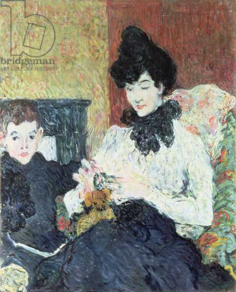 Madame Doubrere and her Son, 1895