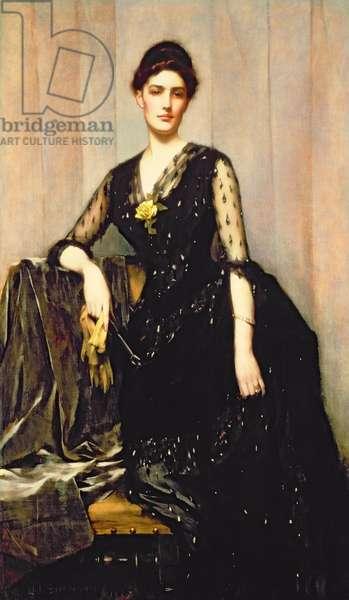 Portrait of Mrs. Agnes Williamson