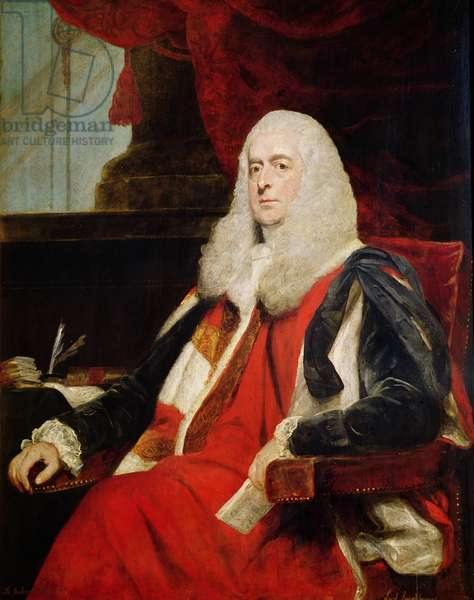 Alexander Loughborough, Earl Rosslyn and Lord Chancellor, 1785 (oil on canvas)