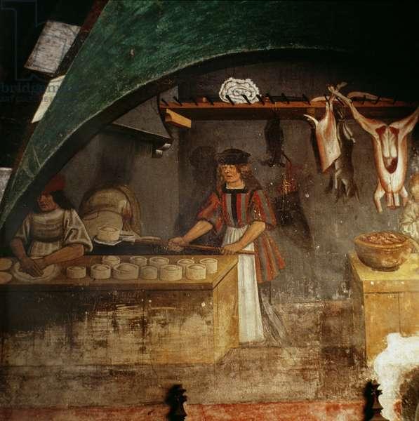 The Pie Maker (fresco)