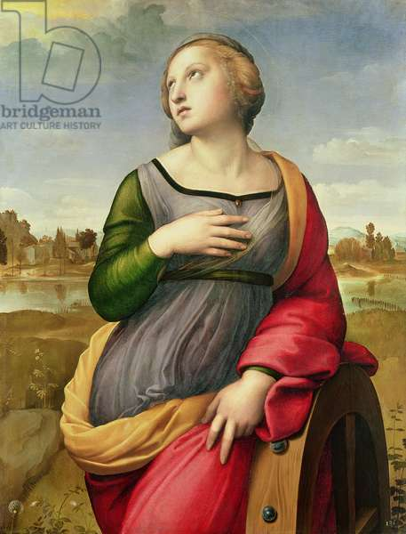 St. Catherine of Alexandria, 1507-8 (oil on panel)