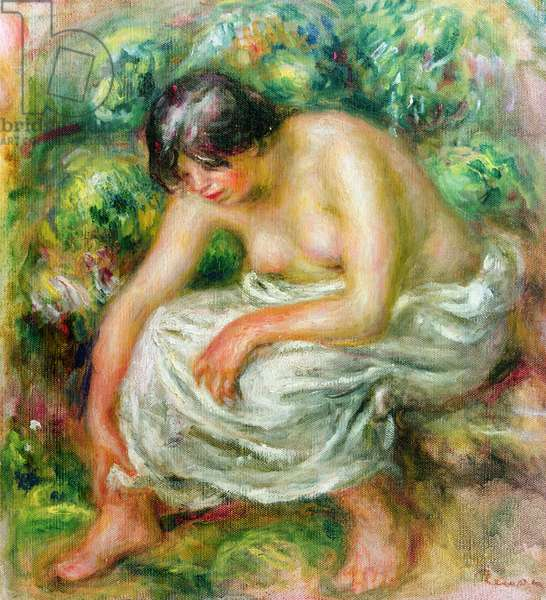 The toilet after the bath, 1915