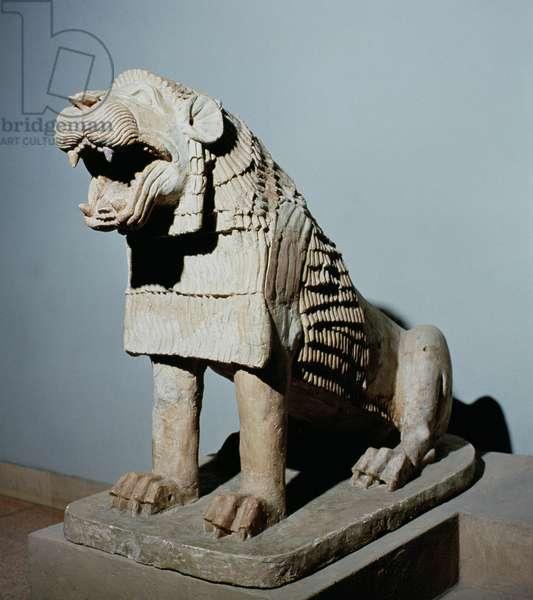 Lion (terracotta)