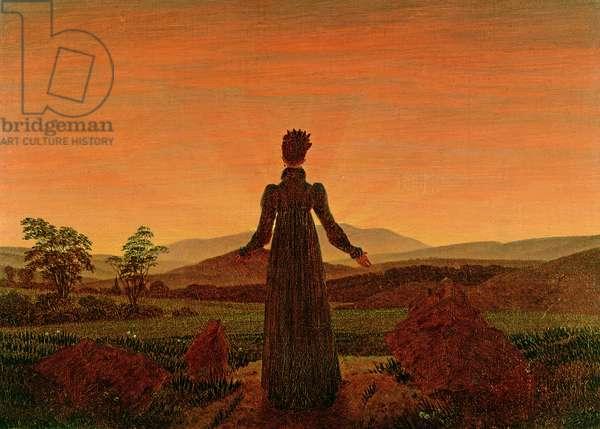 Woman Before the Rising Sun, 1818-20