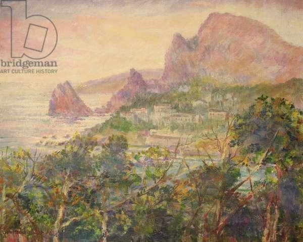 Crimea, Landscape, 1928 (oil on canvas)