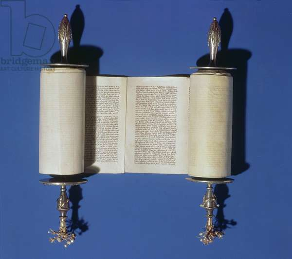Miniature Torah Scroll, 1765 (parchment)