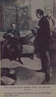 Sherlock Holmes, for 'The Strand' Magazine, May 1915