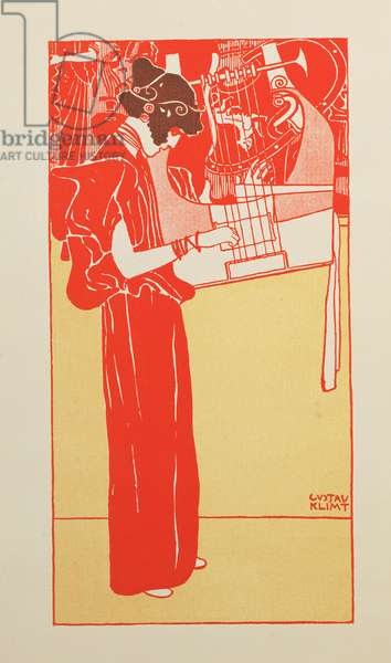 Musik (lithograph)