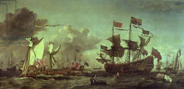 Royal Visit to the Fleet, 5th June 1672