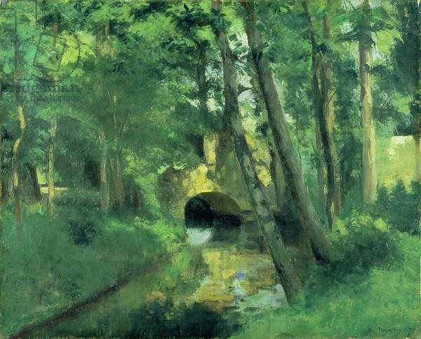 The Little Bridge, Pontoise, 1875