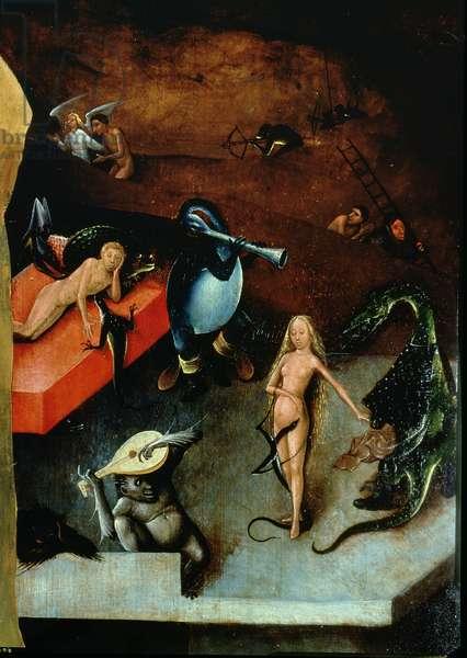 The Last Judgement (altarpiece) (detail of Musical Instruments)